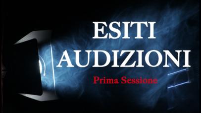 ESITI AUDIZIONI A.A. 2020/2021 – Prima Sessione
