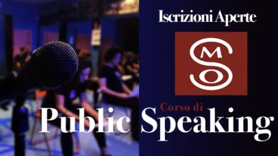 APERTURA CORSO di PUBLIC SPEAKING